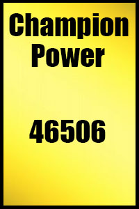 Champion Generator Manuals on Generator Parts World